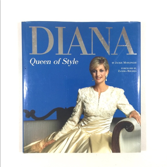 Vintage Accents Diana Queen Of Style Coffee Table Book Poshmark